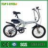 "TOP 20"" 250w Chinese manufacturer eco electric lithium folding bike"