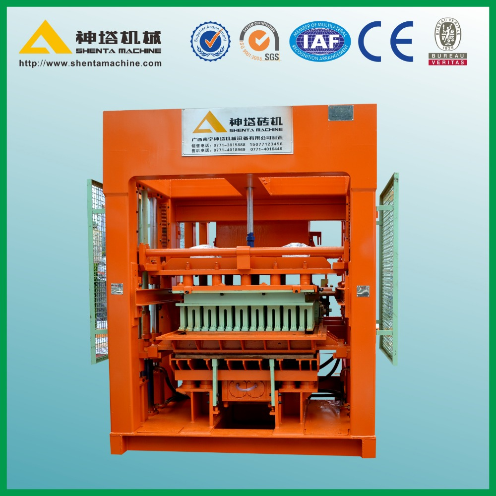 hotsales QTY8-15 paver block price list of concrete block making machine