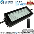 AC/DC IP67 IP65 Waterproof BIS LED Driver 200W For Street Light Module/High Bay Lighting supply LED Power