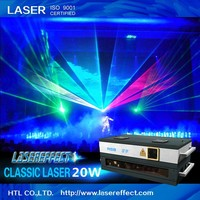 20W RGB multicolor laser light for pub/club/indoor&outdoor stage performance