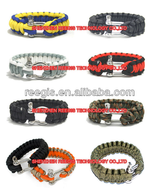 personalized your own style paracord bracelet