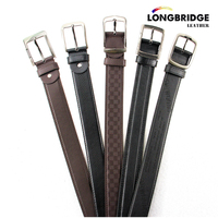 Best selling PU leather belt for men