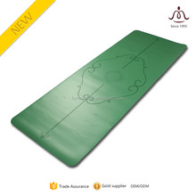 eco-friendly pu yoga mat with high quality