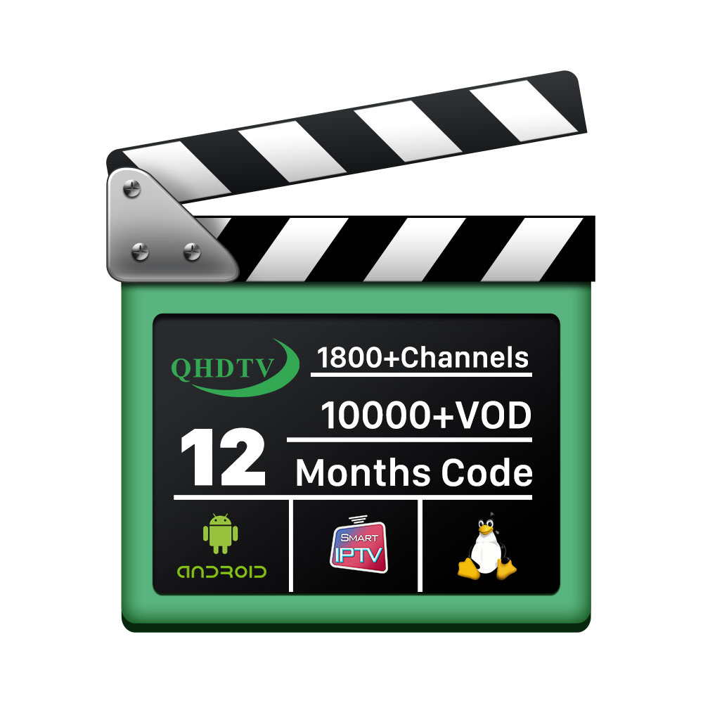 World Global IPTV Service <strong>Provider</strong> QHDV IPTV M3U Channels List Account Subscription 12 months