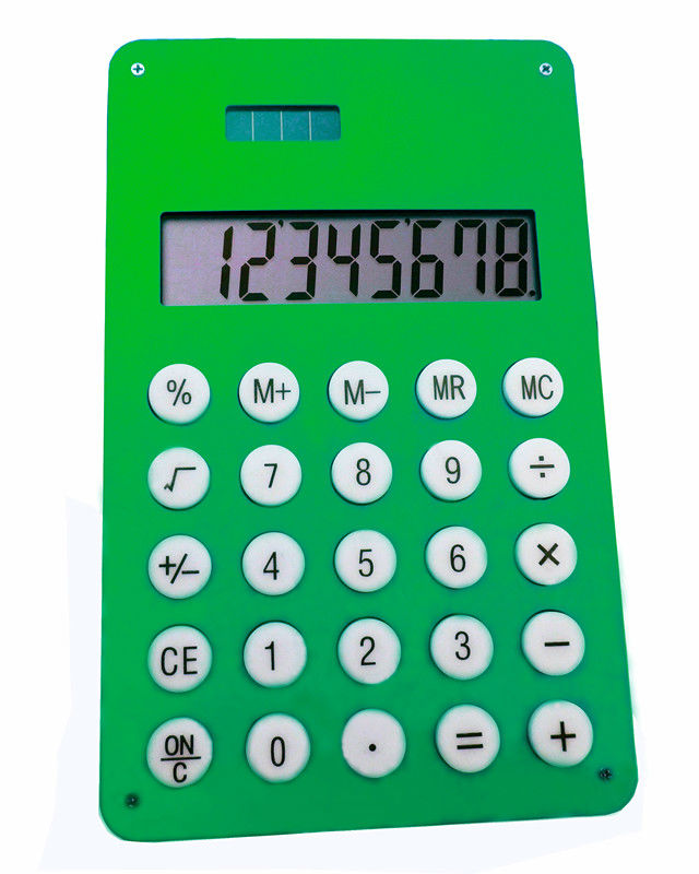 metal case calculator ,flat 8 digital solar powered electronic calculator,office gift