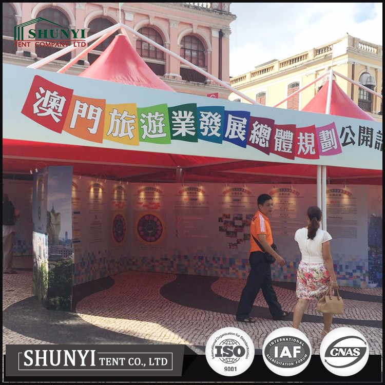 Outdoor folding tent exhibition pop up marquee gazebo canopy tent