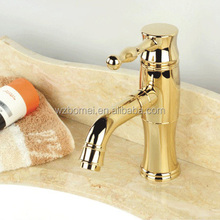 Fancy germany gold-plated bathroom faucet