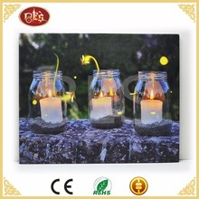 BES Spring light up candle wall led motion picture with light