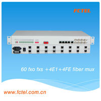 with 4E1+4Ethernet 60channel pabx telephone system,gsm voice modem,pcm multiplexer