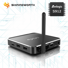 Android tv box amlogic s912 android 7.1 preinstall google play store