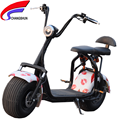 best price scrooser 60V 12AH Harley electric scooter 1000w citycoco with front rear