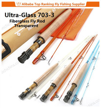 New 7ft #3 3pcs fiberglass fly fishing rod