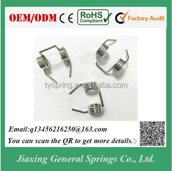 Precision Quality OEM 2.8mm Diameter Double Torsion Spring for Garage Door