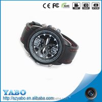 Fashion SD Card Camera HD 1080P 16GB Mini Hidden CCTV BS-S30 HD DVR Infrared Night Vision Wrist Watch Camera