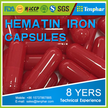 Blood Tonic Hemoglobin Powder Hematin Supplement Fe Zn Hard Capsule