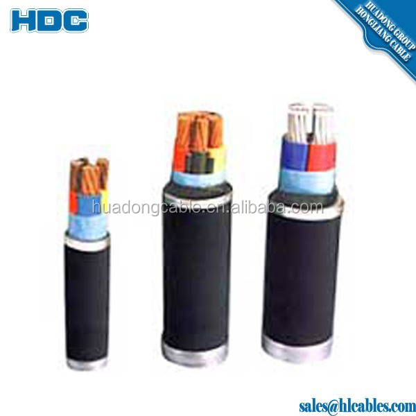 IEC60502 Power Cable 0.6/1kV Copper Core XLPE Insulated Multi Strand Electric Cable