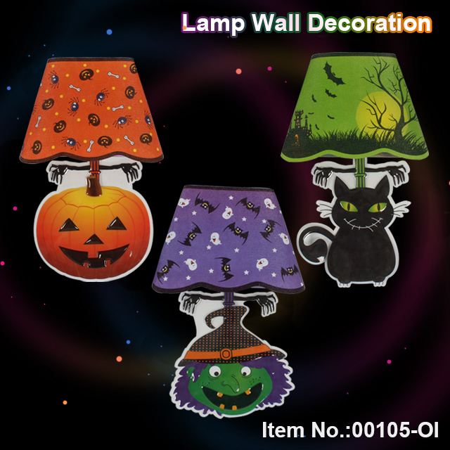 Halloween LED lamp wall decoration light toy