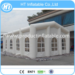 White Color Durable PVC Tarpaulin Inflatable Wedding Tent,Inflatable Event Tent,Giant Inflatable Party Tent For Sale