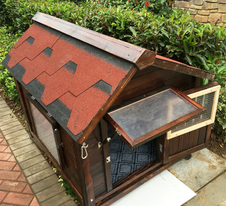 High Quality Waterproof and Anti-corrosion Wooden Dog Kennel for Sale