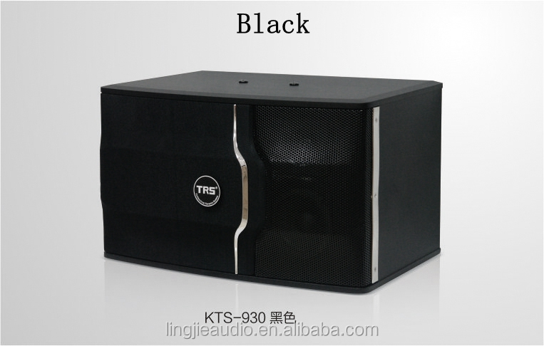 10 inch three-way three drivers karaoke speaker for home family KTV room