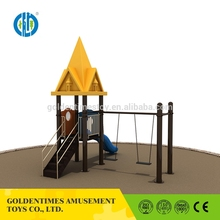 Custom newest design interesting style kisd outdoor slide playground sets