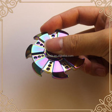 Colourful Metal Fidget Spinner Rainbow Finished Hand Spinner