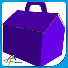 Creative design house shape paper gift box