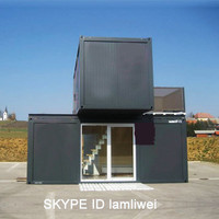 Fashionable Movable Luxury One Floor Container Houses