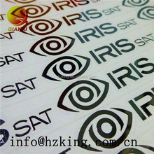 Super Thin Customized Silver Metal Stickers with 3M Adhesive