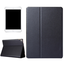 Gold Supplier Frosted Texture Flip Solid Color Leather Stand Tablet Case for iPad Pro 9.7 inch