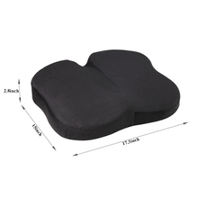 Chinese Ventilated Orthopedic Coccyx Hip Support Bench Chair Cushion Memory Foam Seat Cushion With Breathable Washable Cover