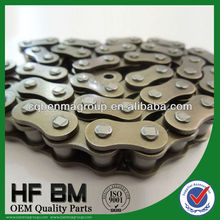 Motorcycle Drive Chain, 40Mn Motorcycle Chain for Motorcycle Transmission Kits Factory Wholesale