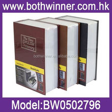 book box ,H0T004 book key safe box