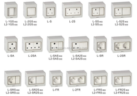 Widely Use Fashion Ip65 Switch Socket 220V