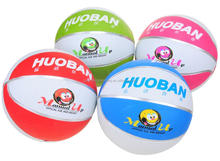 outdoor cheap rubber basketball size 3 on sale