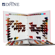 Wholesale high quality hot sale OEM design professional hair color chart