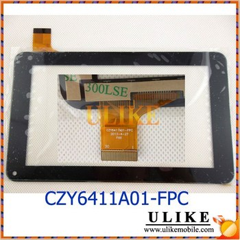 7'' inch Tablet PC Digitizer Touch Screen Panel Replacement Flex Number CZY6411A01-FPC