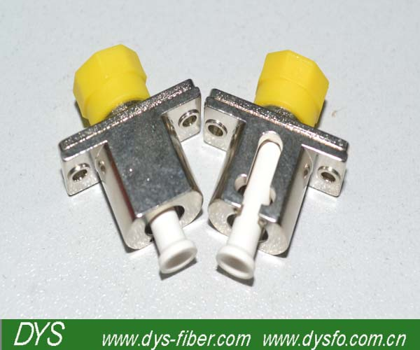 Fiber Optic Simplex FC to LC mating sleeves hybrid adapter