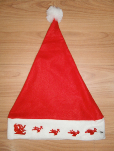 party decorations flashing Christmas novelty hats christmas hat with lights