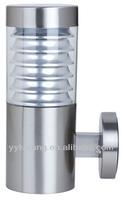 Outdoor wall light IP44 stainless steel glass garden light modern design