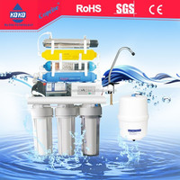 7 stages alkaline ro water filter system with KK-RO50G-X