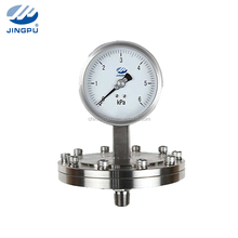 Wholesale YPF series flanged diaphragm pressure gauge