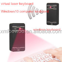 New product! Wireless laser red infrared keyboard with bluetooth mouse keyboard for mobile phone,android tablet,Laptop,computer