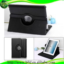 Black Rotate 360 degrees leather case for ipad
