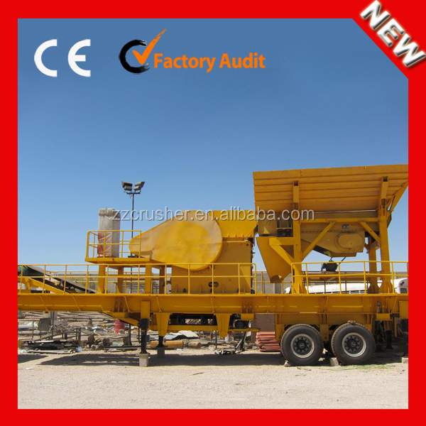 Newly Designed stone crusher aggregate production plant