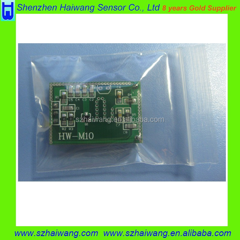 Wide-angle 220V microwave doppler radar switch sensor module for Automatic Doors & light M21