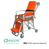Cheap and durable!Aluminum alloy foldaway stretcher;first aid ambulance stretcher;ambulance stretcher dimensions DW-SS003