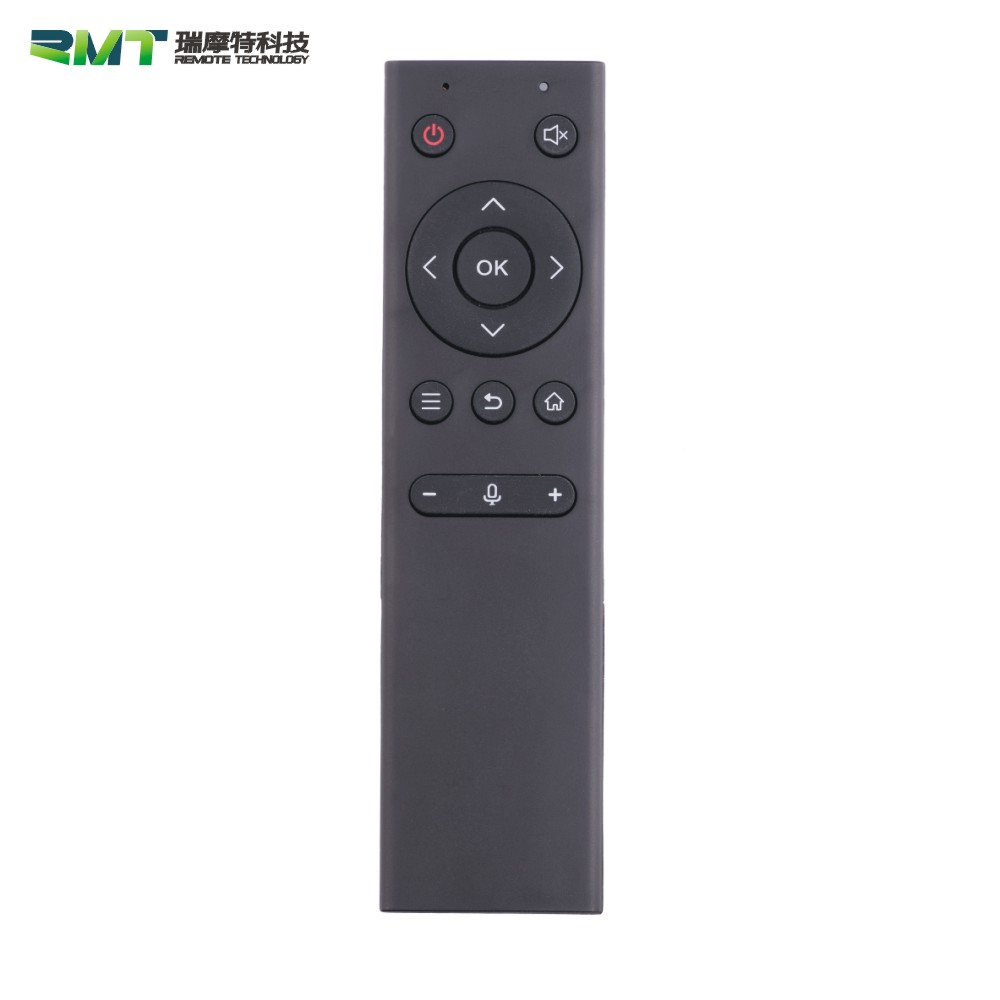Smart TV Box Remote Control with Optional wireless bluetooth and Voice Input Function