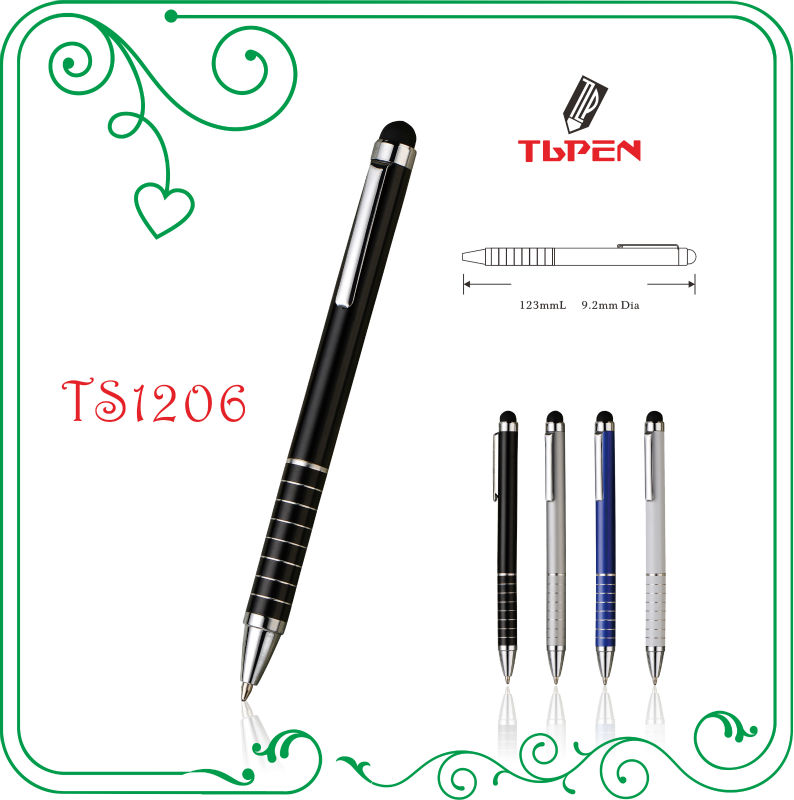 slim stylus touch screen ball pen TS1206