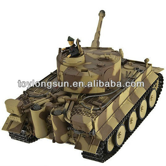 Popular 1:24 1:72 RC Toy Shoot BB Ball RC Tank Fighting RC Tank